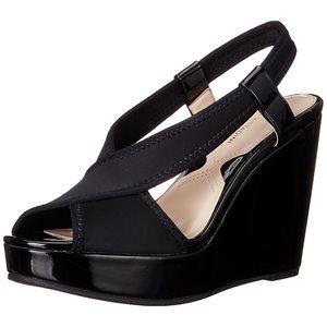 {ADRIENNE VITTADINI} Catri Slingback Wedge Sandals